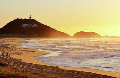 Sunrise At Sugarloaf Point Art Print