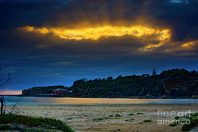 Photograph - Sunrise At Tathra Wharf by Stuart Row