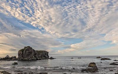 Photograph - Sunrise At The Coast by Loree Johnson