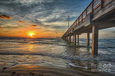 Coastal Photograph - Sunrise At The Coast by Tod and Cynthia Grubbs