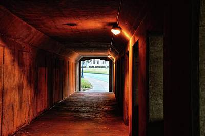Photograph - Sunrise At The End Of A Tunnel by Diana Mary Sharpton