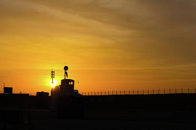 Photograph - Sunrise At The Fob by SR Green
