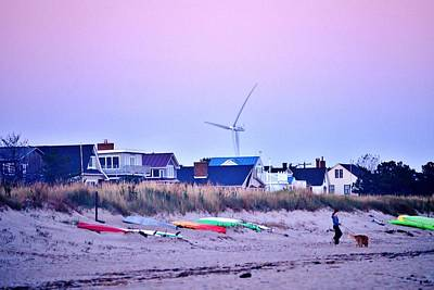 Photograph - Sunrise At The Lewes Beach - Delaware by Kim Bemis