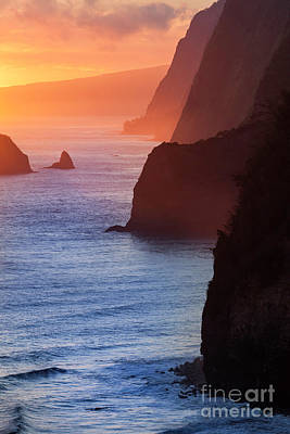 Cargo Boats - Sunrise at the North Kohala Coast by Daryl L Hunter