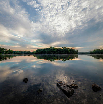Photograph - Sunrise At The River Ponds by Scott Bean