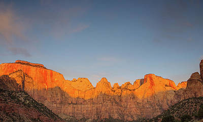 Photograph - Sunrise At The Towers Of Virgin by Kunal Mehra