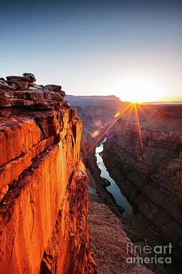 Photograph - Sunrise At Toroweap Point, Grand Canyon, Usa by Matteo Colombo