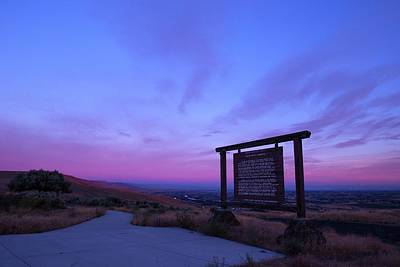 Photograph - Sunrise At Viewpoint by Lynn Hopwood