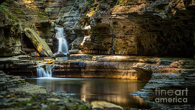 Photograph - Sunrise At Watkins Glen by Brad Marzolf Photography
