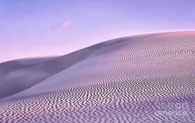 Sunrise At White Sands Art Print