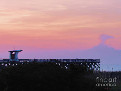 Photograph - Sunrise At Wrightsville Beach by Roberta Byram