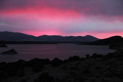 Sunrise At Yuba Lake Art Print by Dan Pearce