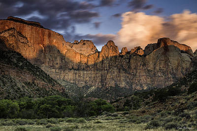 Photograph - Sunrise At Zion by Fran Gallogly