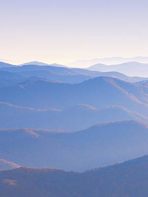 Photograph - Sunrise Atop Clingman's Dome Ltriptych by Jeff Abrahamson