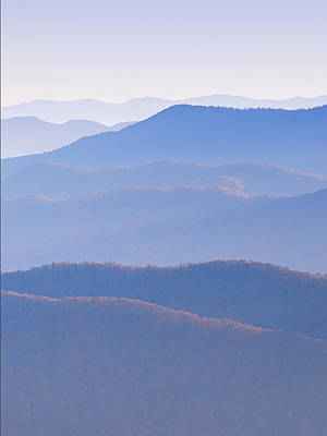 Photograph - Sunrise Atop Clingman's Dome  Rtriptych by Jeff Abrahamson