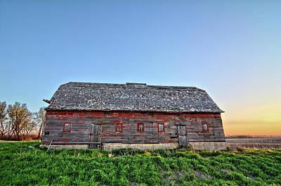Photograph - Sunrise Barn 2 by Bonfire Photography