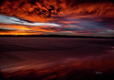 Photograph - Sunrise Beach 4 by Bill Posner