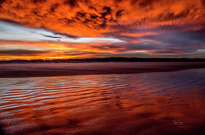Photograph - Sunrise Beach 6 by Bill Posner