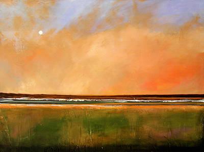 Sunrise Beach Art Print by Toni Grote