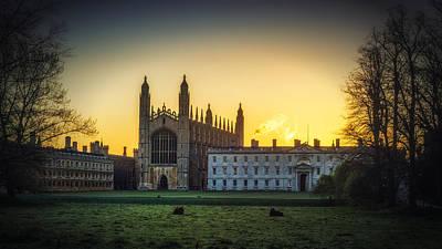 Photograph - Sunrise Behind Kings by James Billings