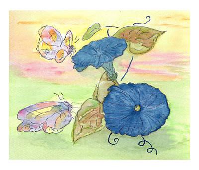 Belinda Landtroop Paintings - Sunrise by Belinda Landtroop