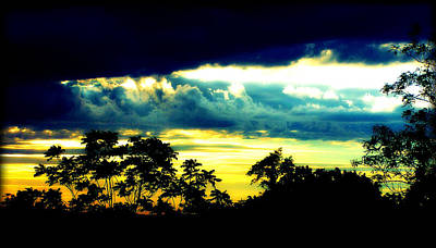 Photograph - Sunrise Below A Morning Storm by Susie Weaver