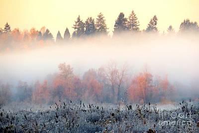 Photograph - Sunrise Blanket by Frank Townsley