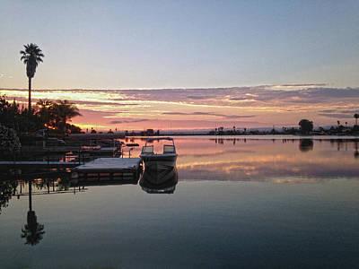 Photograph - Sunrise Boat by Dan Reich