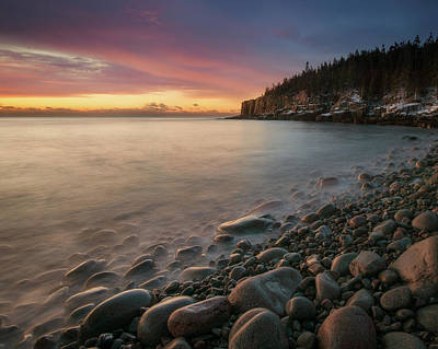 Photograph - Sunrise Boulder Beach by Darylann Leonard Photography
