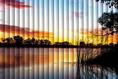 Photograph - Sunrise Brady - The Slat Collection by Bill Kesler