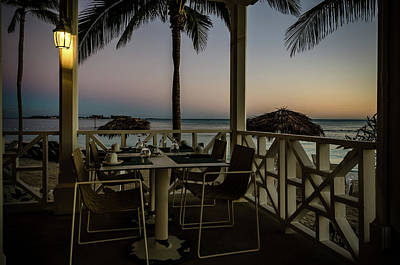 Photograph - Sunrise Breakfast In The Bahamas  by Anthony Doudt