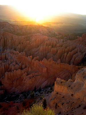 Photograph - Sunrise Bryce Canyon by Anne Sands