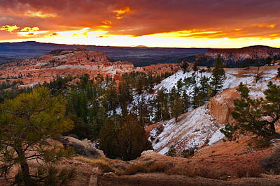 Photograph - Sunrise Bryce by Harry Spitz