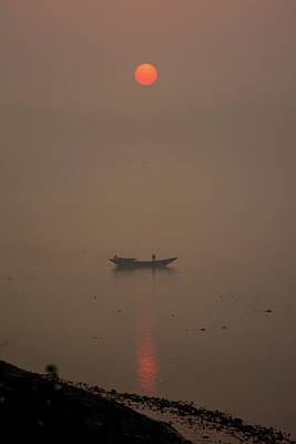Photograph - Sunrise By Ganges River by RC Pics
