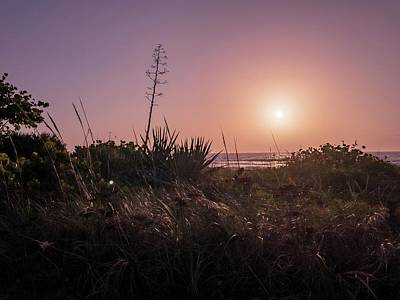 Photograph - Sunrise By The Atlantic by Carlos Avila
