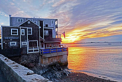 Photograph - Sunrise By The Barnacle Marblehead Ma by Toby McGuire
