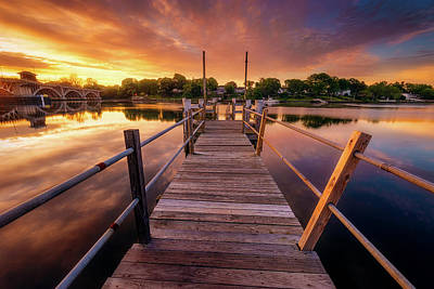 Photograph - Sunrise By The Ramp by Lechmoore Simms