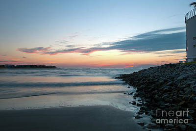 Photograph - Sunrise By The Sea Shore by Dale Powell