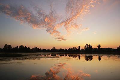 Photograph - Sunrise Cloud Dragon by rd Erickson