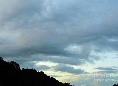 Photograph - Sunrise Clouds by D Hackett