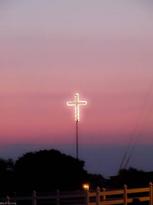 Photograph - Sunrise Cross by Nick Kirby