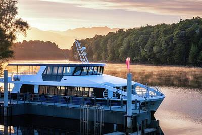 Photograph - Sunrise Cruise To Doubtful Sound by Daniela Constantinescu