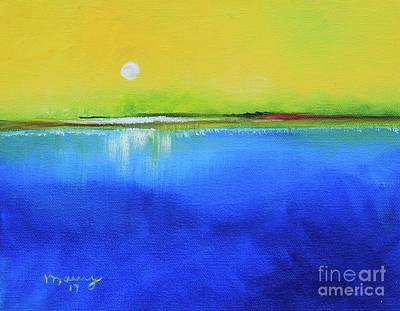 Puerto Rico Painting - Sunrise Day by Alicia Maury
