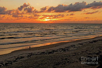 Photograph - Sunrise Daytona by Paul Mashburn