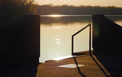 Photograph - Sunrise Docking by Wild Thing