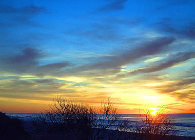 Sunrise Dune I I Art Print by  Newwwman