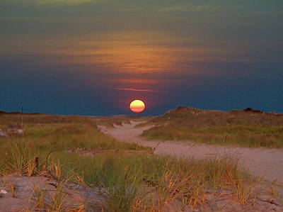 Photograph - Sunrise Dune V by Newwwman