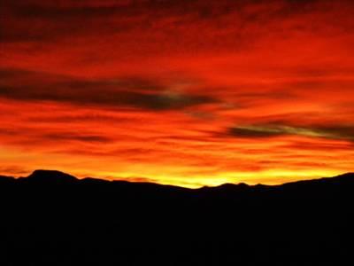 Sunrise Art Print by Eric De La Fuente