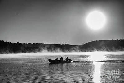 Photograph - Sunrise Fishing 2 by Dennis Hedberg