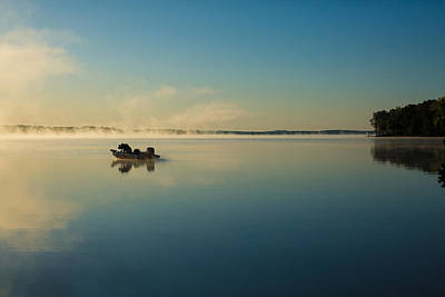 Photograph - Sunrise Fishing by Jessica Brown